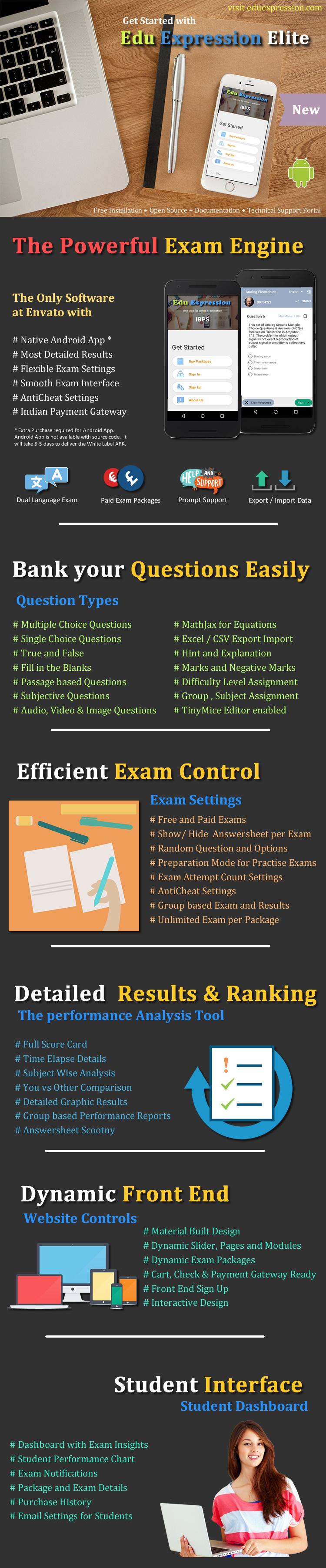 EduEx Online Exam Software Elite - 2